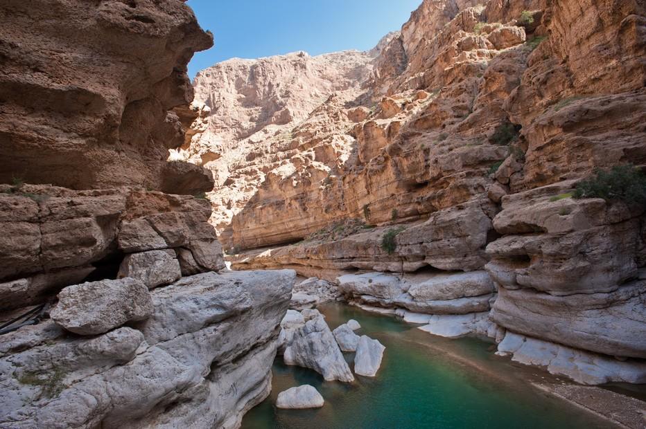 Wadi Shab (Sultanat d'Oman) O.T. Oman