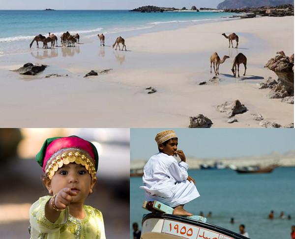 Scènes de la vie quotidienne au Sultanat d'Oman. @ Pixabay et OT Oman