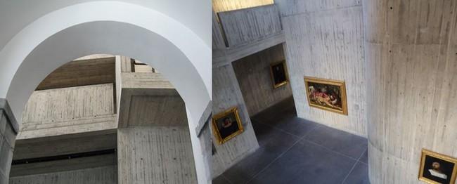Le style épuré et lumineux  du musée des Beaux-Arts et d'Archéologie de Besançon après rénovation. @ C.Gary