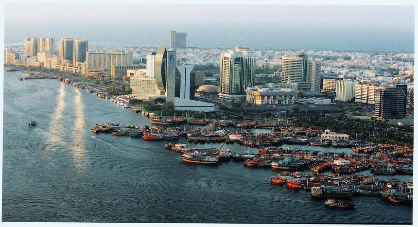 Le port de Dubaï