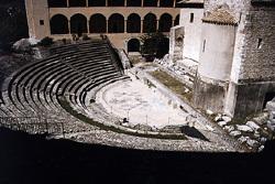 théâtre romain de Spoleto