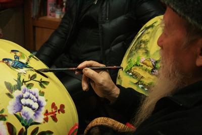maître-artisan de Lugang, âgé de 80 ans