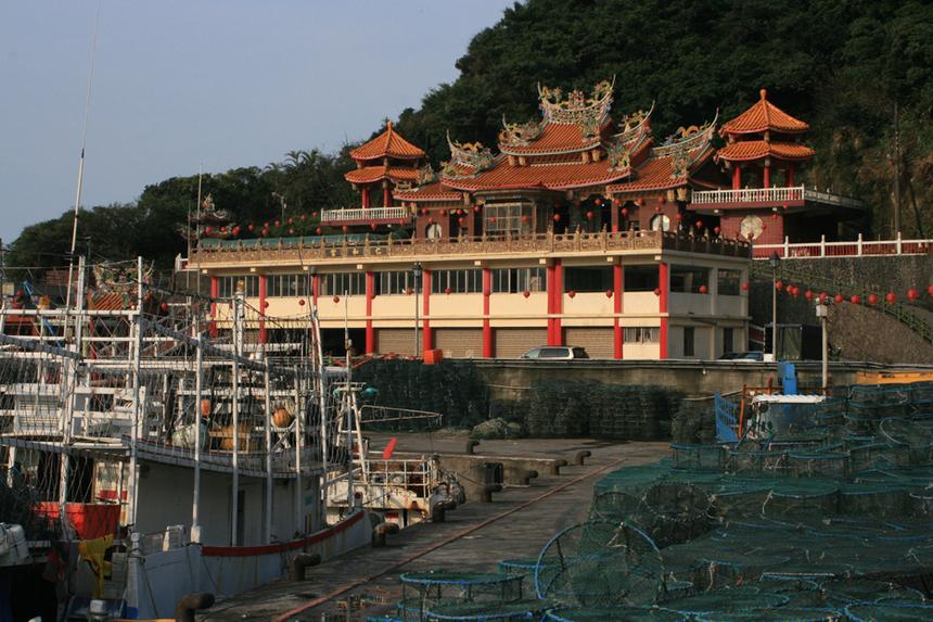 Port de pêche à Taïwan