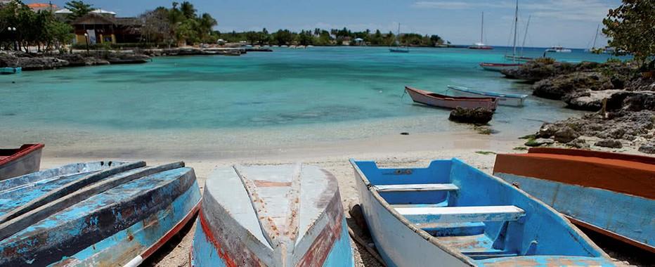 Départ de Punta Cana pour se rendre dans les iles aona- @ DR