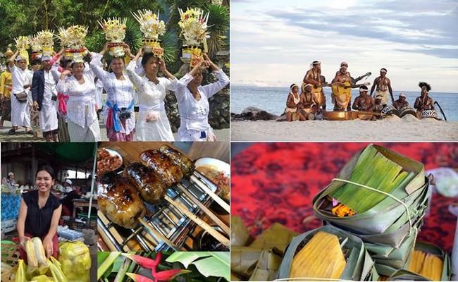 L'Indonésie offre aux touristes la beauté du paysage,son histoire, sesmets, ses musiques traditionnelles et ses danses... @ David Raynal et Wonderfull Indonésia