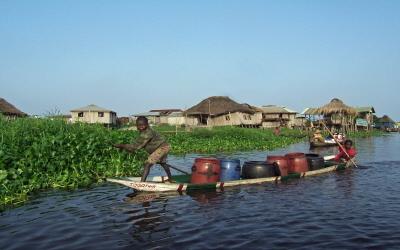 Ganvié,  la Venise africaine