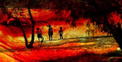 sur les terres aborigènes (photo Freid Lebrun)