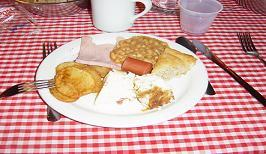 un déjeuner canadien (C.photo Alain Prévost)