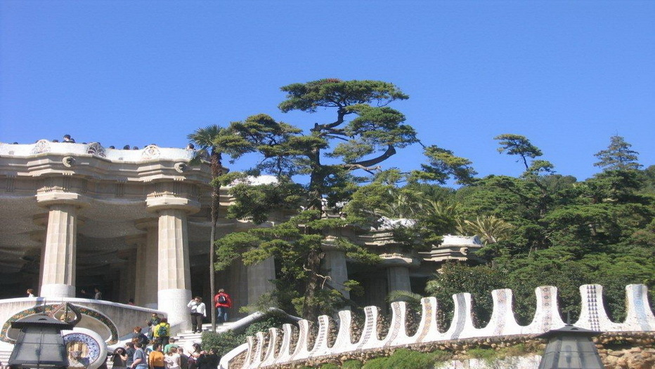 Le Parc Güell de Antony Gaudi(crédit Photo SF.Frossard)