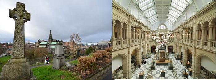 Pour les inconditionnels de l'architecte, une de ses œuvres de jeunesse est encore visible jusque dans la Nécropole, près de la cathédrale. Crédit Photo People Make Glasgow et David Raynal.