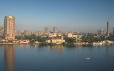 Le Caire vue du Nil