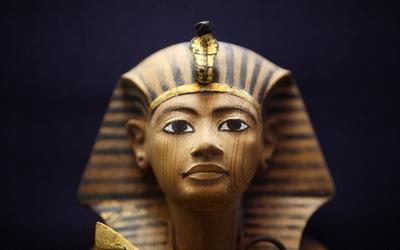 Pharaon exposé au Musée du Caire