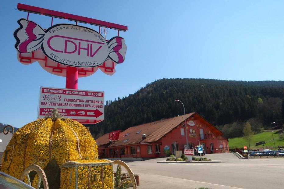 À Plainfaing dans les Hautes-Vosges, la confiserie CDHV est le temple des bonbons pour petits et grands. ©Bertrand Munier
