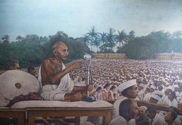 Musée Gandhi à Ahmedabad .©Fabrice Dimier