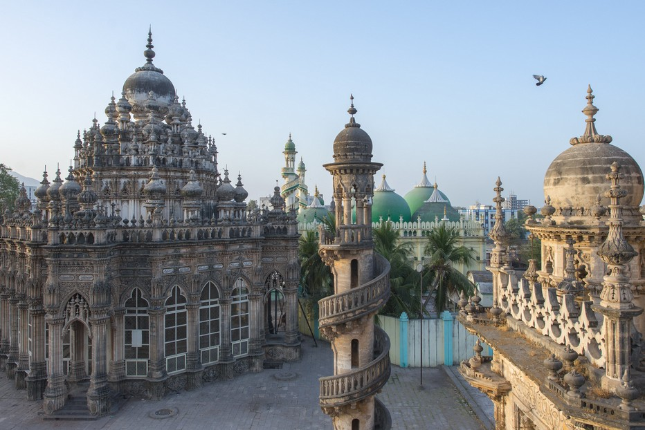 Junadagh Mausolées musulmans         .©Fabrice Dimier