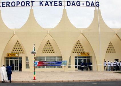 Aeroport Kayes Dag-Dag le jour de l'inauguration