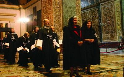 Chevaliers de l'Ordre de Malte à la Cathédrale St-Jean