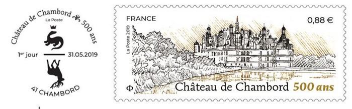 TAD 500 ANS CHAMBORD et 1119015 TF_CHATEAU DE CHAMBORD @ DR