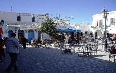 Place à Houmt Souk (Djerba)