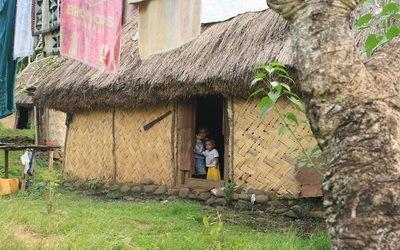 maison d'un village ancestral