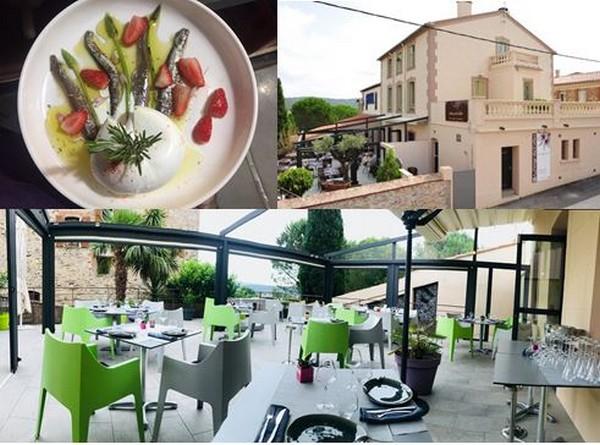 De gauche à droite : Le plat de maquereaux marinés du restaurant Silex @ DR; Auberge du Cellier @ DR; Restaurant La Littorine @ Les Elmes.fr