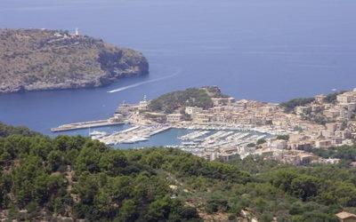 Vue sur Palma de Majorque