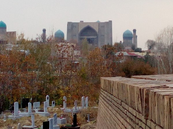 La nécropole Chakh i Zinda; @ FS