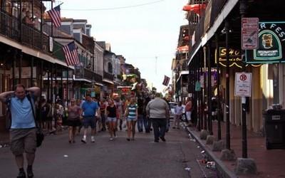 une rue de la Nouvelle Orléans