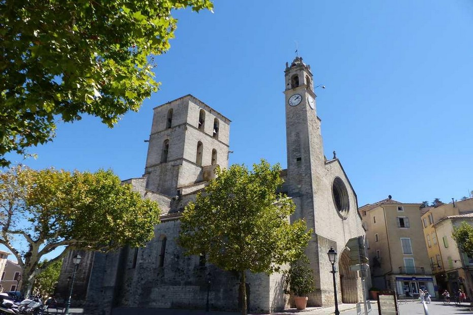 La concathédrale Notre-Dame-du-Bourguet également baptisée Notre-Dame du Marché. @ DR