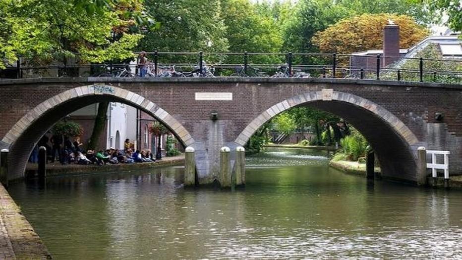 vue sur les canaux d'Utrecht