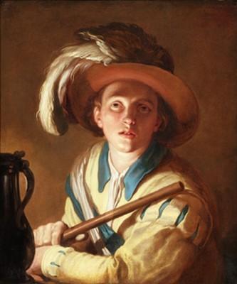 """""""Le Joueur de Flute"""" de Bloemaert"""