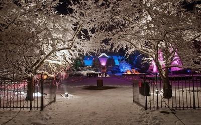 Parc de Wesserling  la nuit