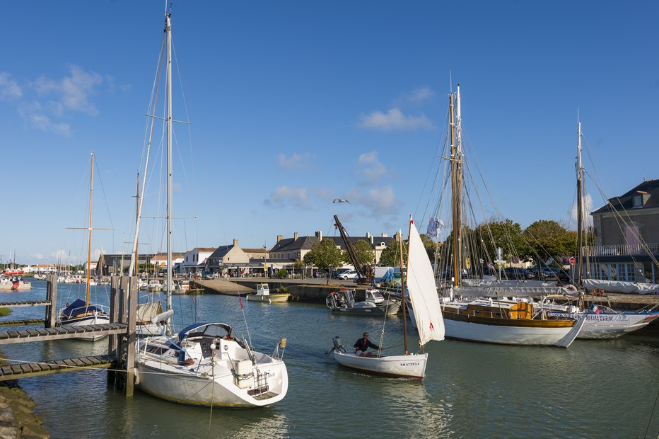 Noirmoutier le port @ V Joncheray
