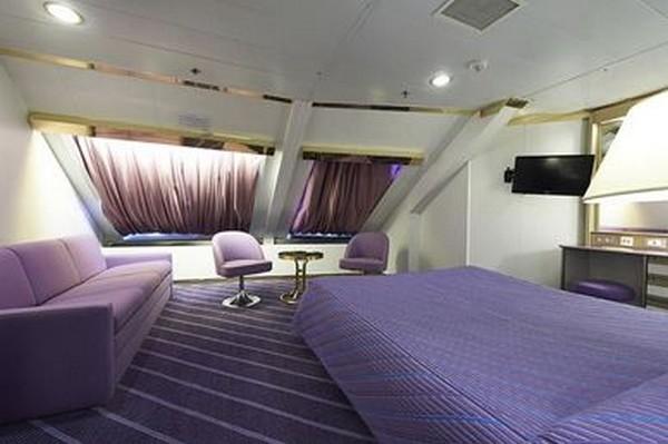 Un exemple de cabine sur le Corsica Ferries pour bien commencer les vacances. Crédit photo Corsica Ferries/D.R.
