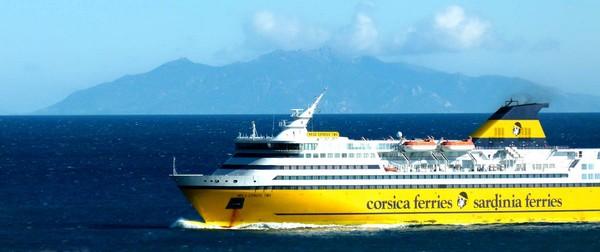 Pour améliorer sa compétitivité, les navires sont construits en Italie à des prix avantageux. Crédit photo Corsica Ferries/D.R.