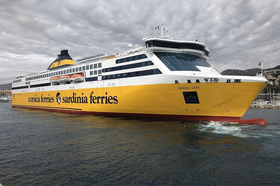 Le Pascal Lota en l'honneur du fondateur de la compagnie. Corsica Ferries/D.R.