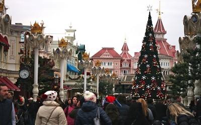 Entrée dans le Parc de Disneyland