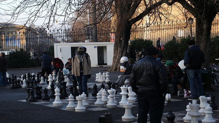 Joueurs d'Echecs quartier des  Bastions