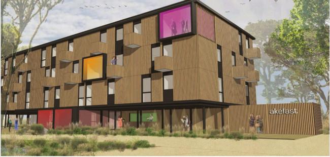 C'est dans ce contexte que le Groupe composé d'Akena et Fasthôtel a dernièrement présenté son nouveau concept d'hôtels Akefast. Ces établissements d'un nouveau genre s'inscrivent résolument dans une démarche éco-responsable.  @ DR