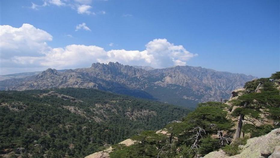 Vue sur la Haute Corse