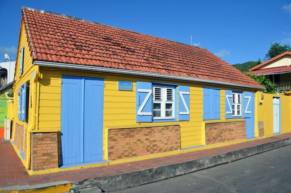 Maison tradtionnelle de la Martinique. @ David Raynal