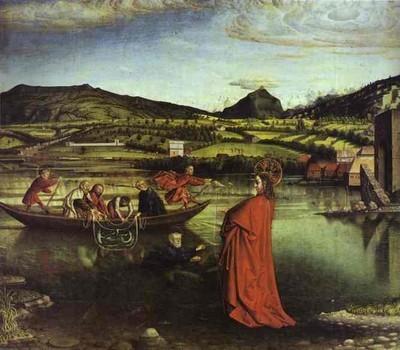 la pêche miraculeuse de Konrad Witz