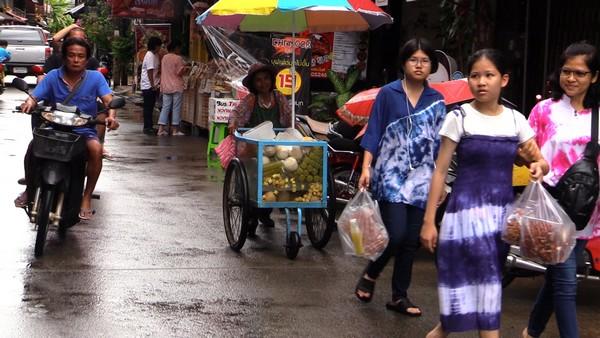 La Thaïlande est également la destination réputée pour sa gastronomie, elle est célèbre notamment pour sa cuisine de rue et ses restaurants gastronomiques.@ JLC