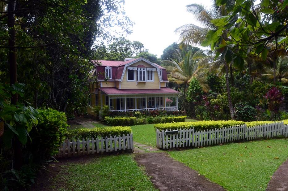 La Villa Angelina dans la propriété de Fond Doux est très prisée par de nombreuses personnalités. @ David Raynal