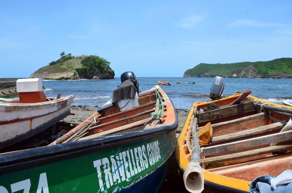 Le Sud et la côte ouest au vent et sauvage de Sainte-Lucie se distinguent enfin par ses petits ports de pêche pittoresques. @ David Raynal
