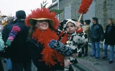 Le carnaval en famille