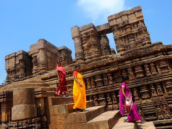 Temple de Konarak inscrit au Patrimoine Mondial par l'Unesco