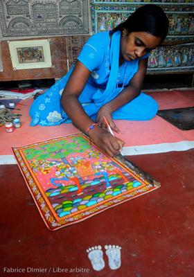 Atelier de peinture tradionnelle