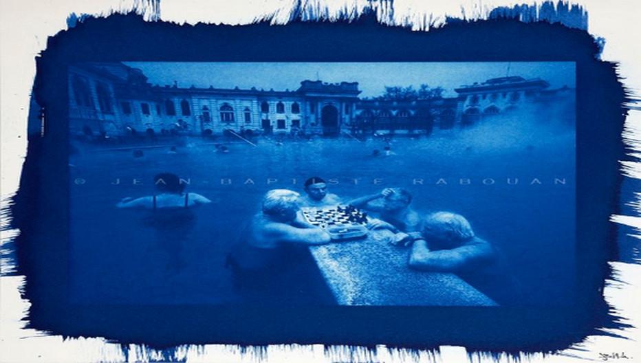 Joueurs d'échec à Budapest - © JB Rabouan