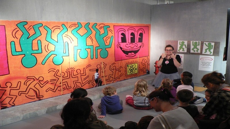 Au Musée en Herbe, dans l'univers de Keith Haring